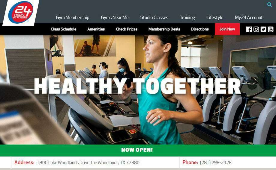 The West Wodlands location of 24 Hour Fitness has closed after the company declared bankruptcy. The Kuykendahl Road gym was one of 12 Houston-area 24 Hour Fitness spots to shutter. Memberships can be transferred to an open location. Photo: Courtesy Images / Courtesy Images