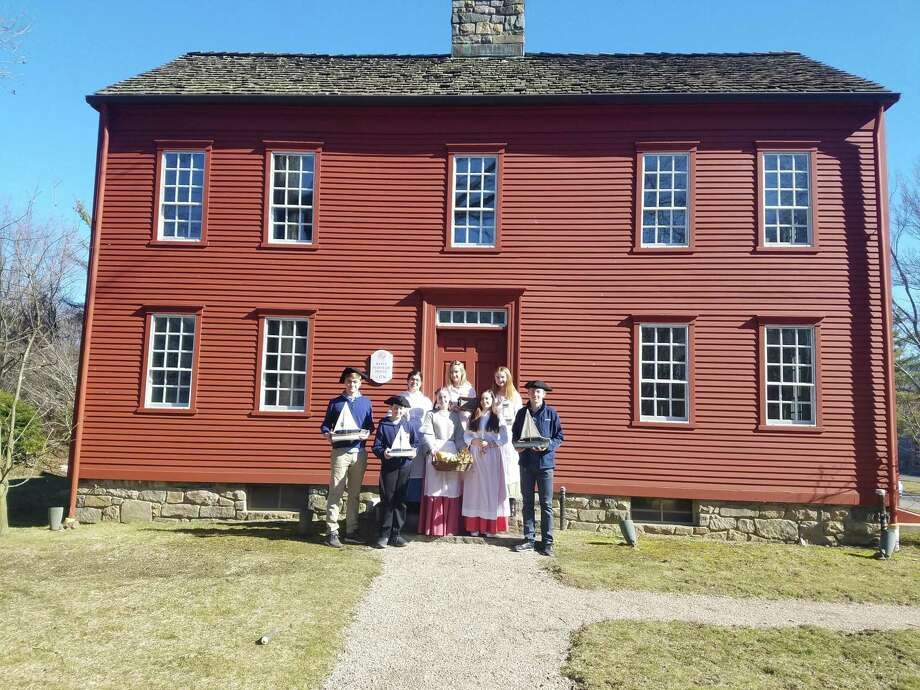 The History Kids of Darien Photo: Clara Goulding
