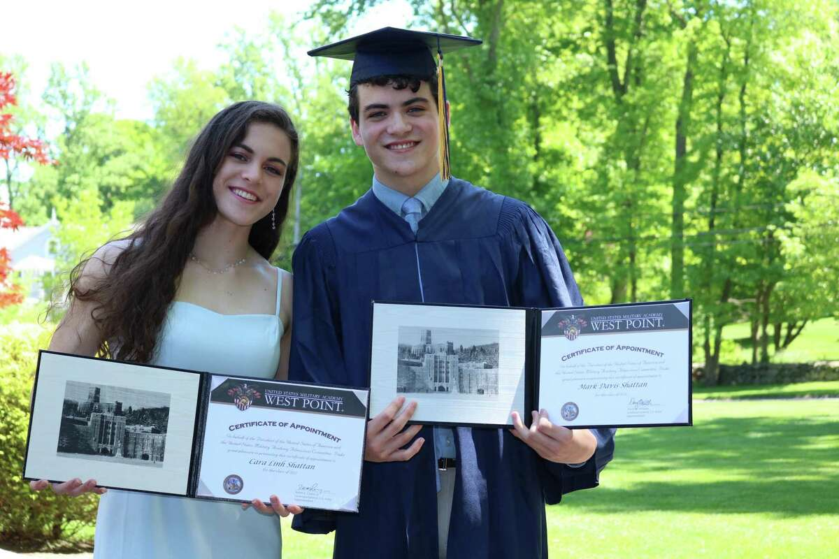 Cara Shattan, a member of the Class of 2021 at the United States Military Academy, will welcome her brother Davis, who is joining in the Class of 2021 in the fall.