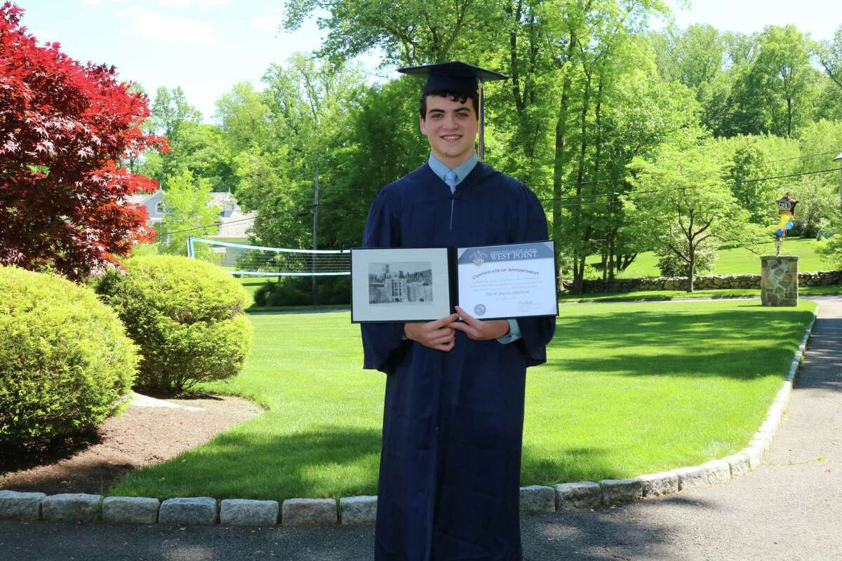 M. Davis Shattan of New Canaan, who graduated from King School in Stamford in May, will be joining the Corps of Cadets at the United States Military Academy at West Point in the fall as a member of the Class of 2024.