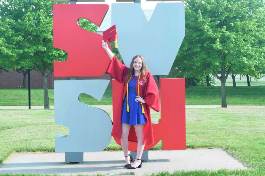Midland Believes Scholarship recipient Selena McCray graduated summa cum laude from Saginaw Valley State University with a bachelor's degree in rehabilitation medicine. (Photo provided)