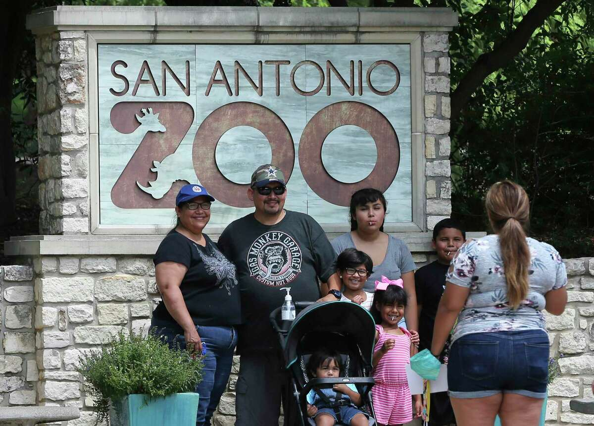 San Antonio Zoo The local zoo is giving veterans and active-duty members free admission in November. Also, up to four immediate family members can receive 50 percent off single-day tickets on the date of the visit.