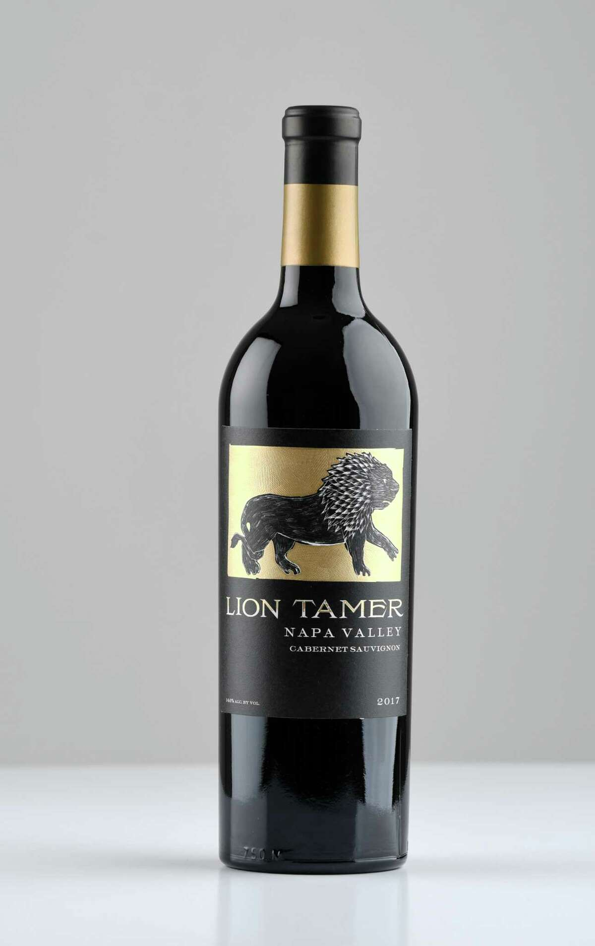 Lion Tamer cabernet sauvignon on Friday, Feb. 7, 2020, at the Times Union in Colonie, N.Y. (Will Waldron/Times Union)