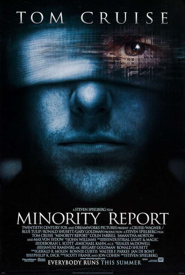 "Celebrating its 18th birthday this week ""Minority Report"" is this seminal sci-fi detective flick where Tom Cruise plays the head of a police force called Precrime Photo: Courtesy Photo"