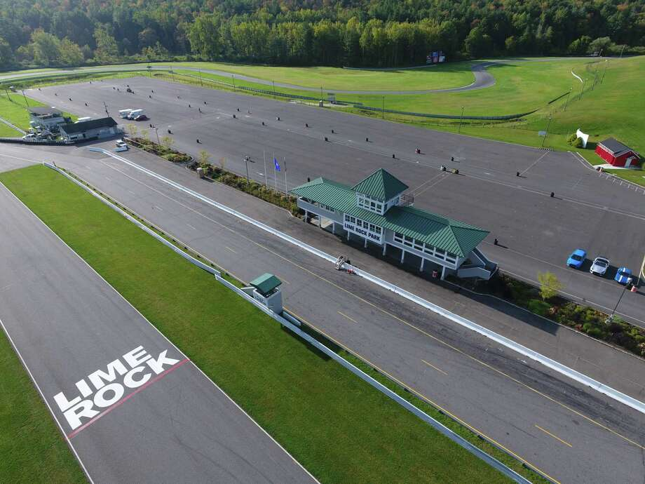 Housatonic Valley Regional High School's Class of 2020 will have its graduation ceremonies at Lime Rock Park in Lakeville this year. Photo: Lime Rock Park / Contributed Photo