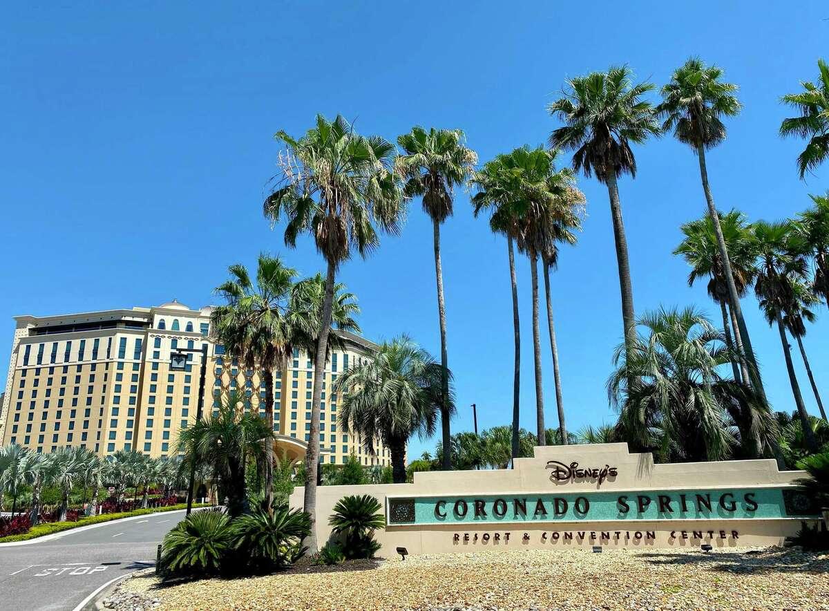 The Gran Destino Tower at the Disney Coronado Springs resort would host eight NBA teams.