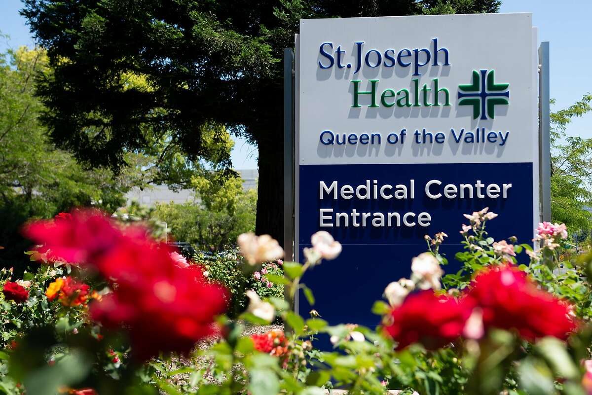 Queen of the Valley Napa Medical Center on June 17, 2020 in Napa, Calif. Workers at Napa County's largest hospital want more access to coronavirus testing after learning they have come into contact with patients who later tested positive.