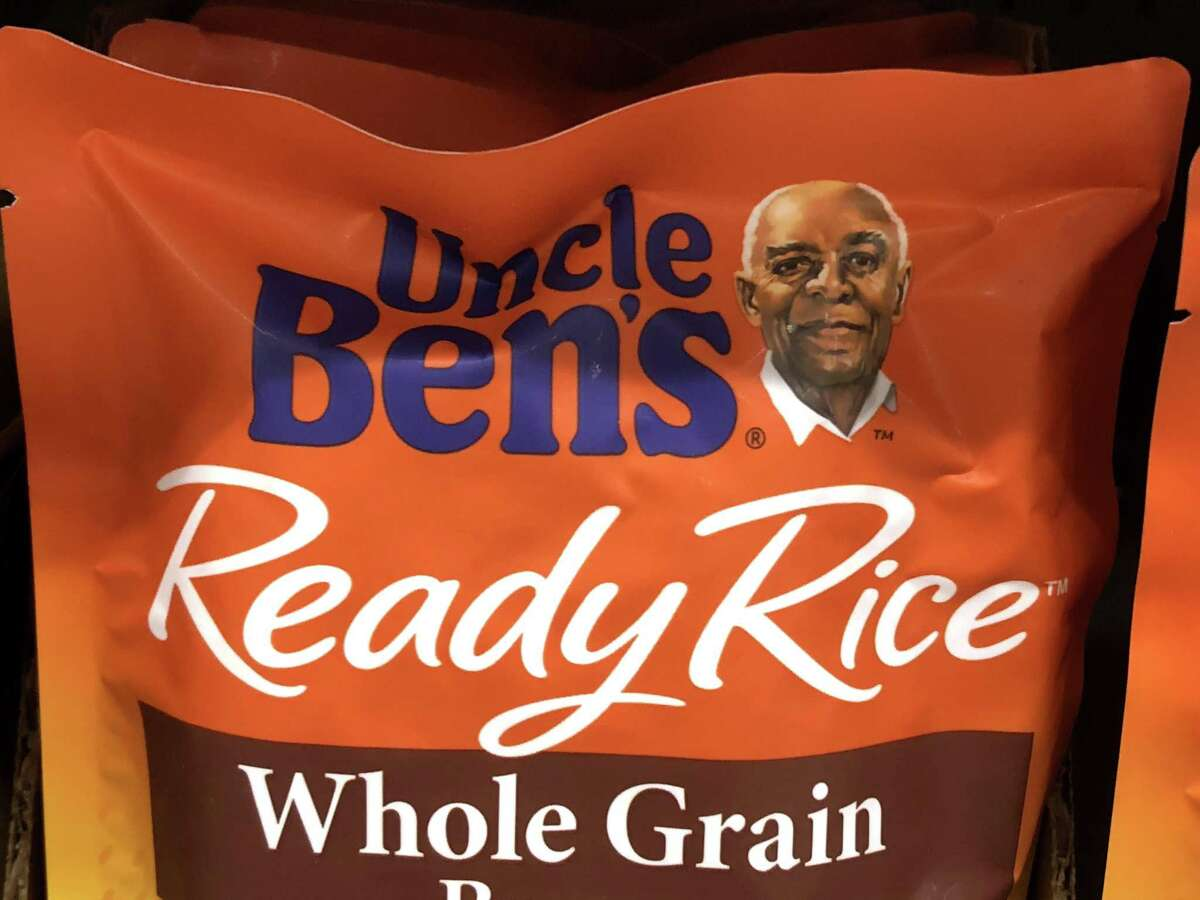 SAN ANSELMO, CALIFORNIA - JUNE 17: A package of Uncle Ben's rice is displayed on a shelf at a Safeway store on June 17, 2020 in San Anselmo, California. Quaker Oats announced that it will discontinue the 130-year-old Aunt Jemima brand and logo over concerns of the brand being based on a racial stereotype. Mars, the maker of Uncle Ben's rice is also considering a change in the rice brand. (Photo by Justin Sullivan/Getty Images)