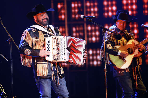 LAS VEGAS, NEVADA - NOVEMBER 14: Intocable performs onstage during the 20th annual Latin GRAMMY Awards at MGM Grand Garden Arena on November 14, 2019 in Las Vegas, Nevada.