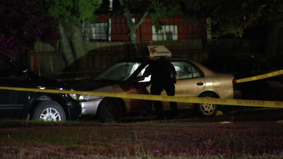 A pizza delivery man was shot on the city's South Side after he was involved in an alleged overnight drug deal, San Antonio police said. Photo: Ken Branca