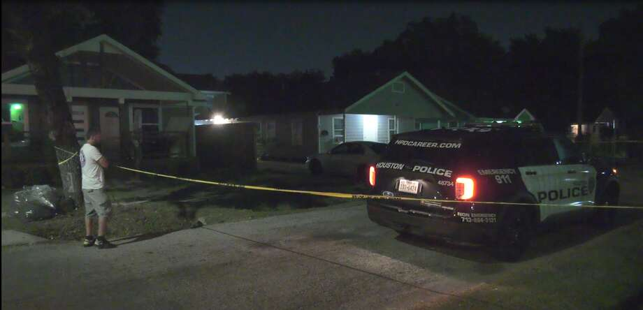 The incident happened at a duplex-type apartment complex in the 8100 block of Bangle Street. Photo: OnScene TV