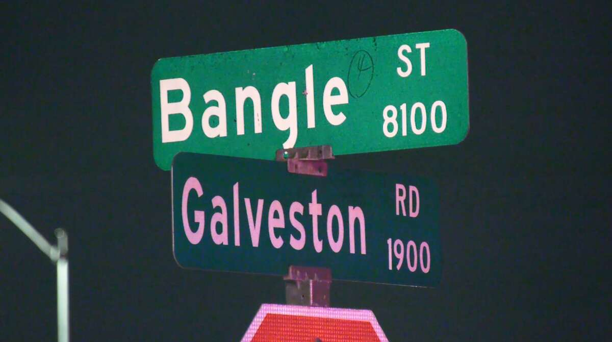 The incident happened at a duplex-type apartment complex in the 8100 block of Bangle Street.