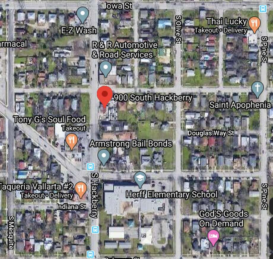 A 17-year-old driver died after crashing into another vehicle on the city's Southeast Side on Wednesday night, according to San Antonio police. The teenager was not wearing a seatbelt, police said. The map shows the approximate location of the incident. Photo: Google Maps