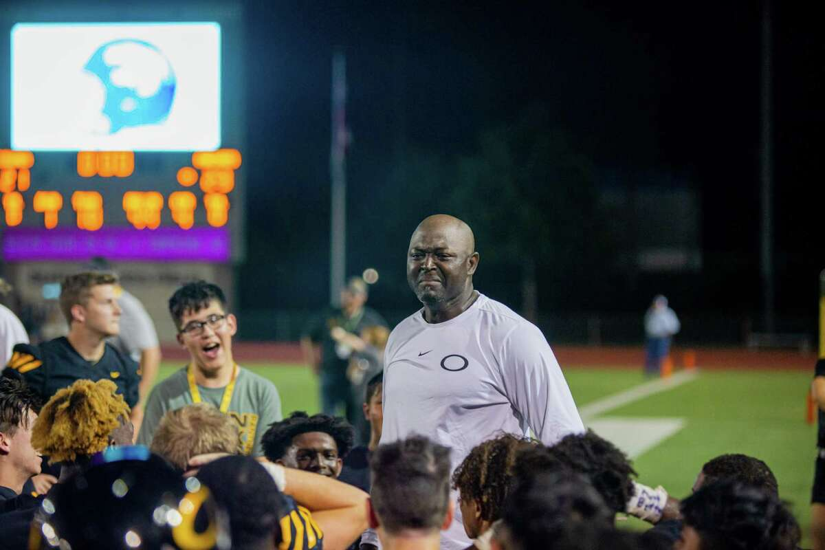 Klein Oak head coach Jason Glenn, after an early season game last season, began the recent conditioning drills with a message to his diverse team about unity.
