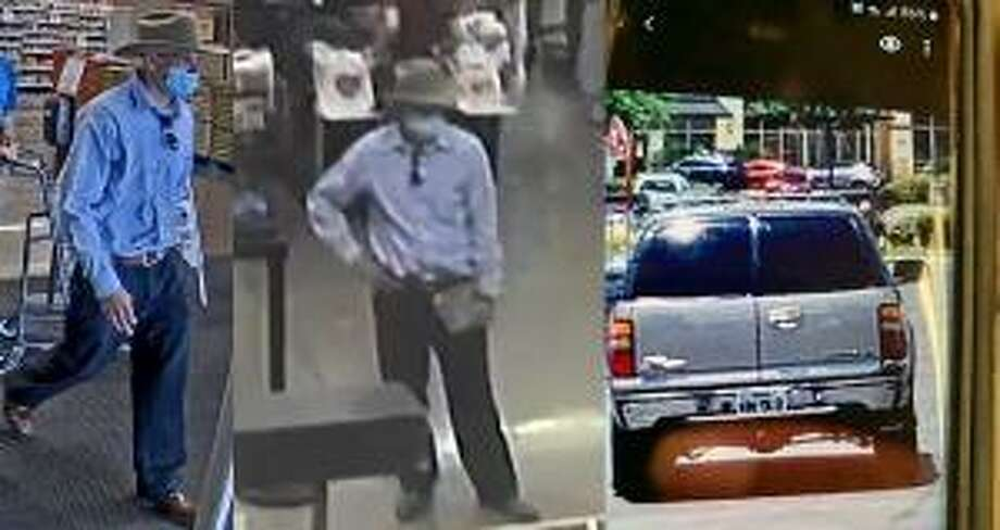 San Antonio police are searching for a suspect who robbed a H-E-B cashier on Sunday. Photo: San Antonio Police Department