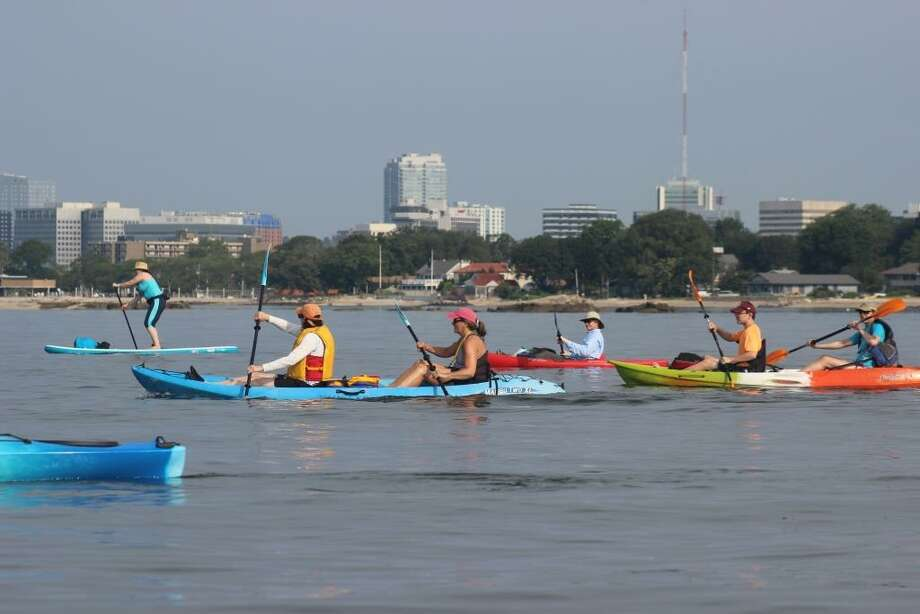 The Soundwaters Flotilla will launch from Darien beaches on July 18 Photo: Soundwaters