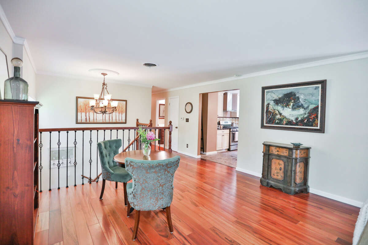 The home at 4 Maple Lane North, Colonie (Loudonville) is a raised ranch with four bedrooms, three bathrooms and fun tile choices. Contact listing agent Steven Girvin of Howard Hanna at 518-852-1315. https://realestate.timesunion.com/listings/4-Maple-La-North-Colonie-NY-12211-MLS-202016762/39713913