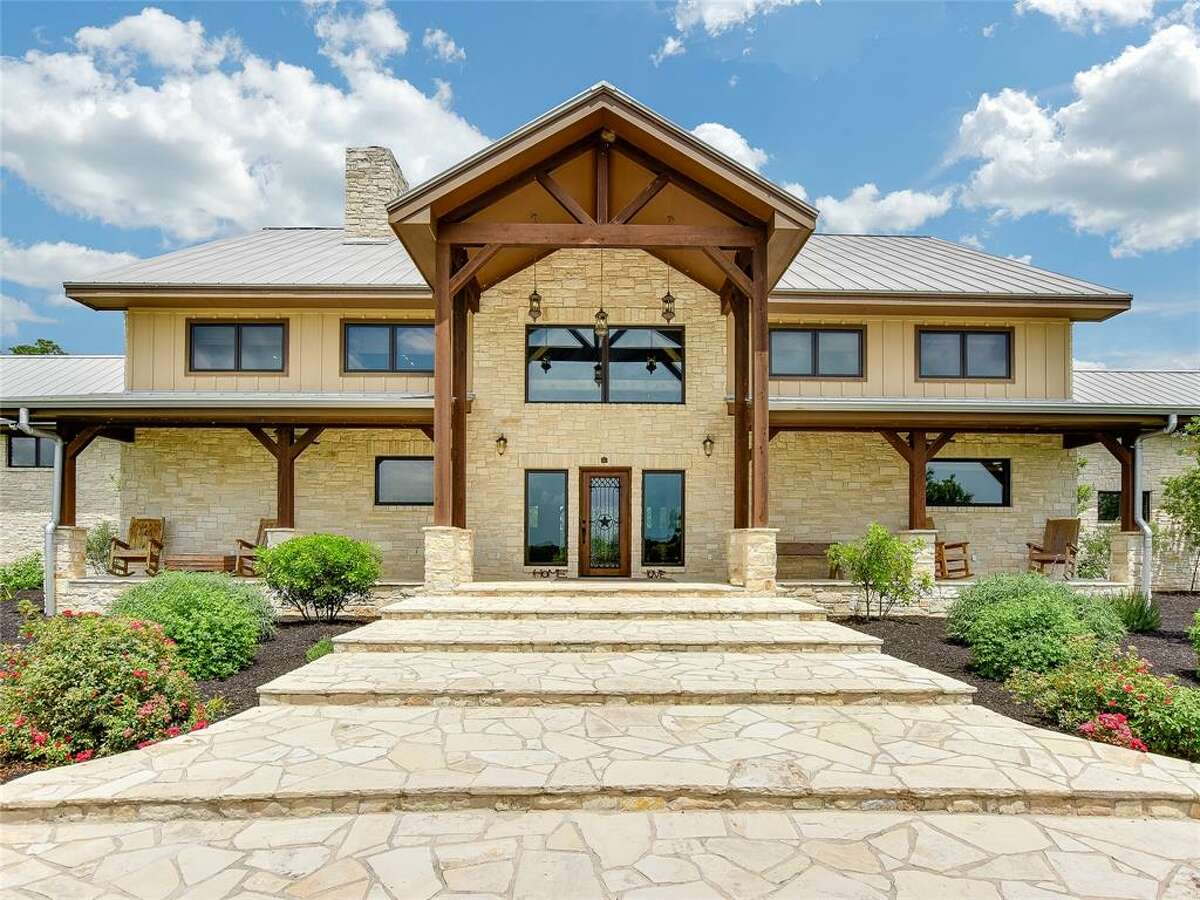 The home at 1000 River Trace Drive, Columbus, recently hit the market for $2,400,000, according to a listing on the Houston Association of Realtors.
