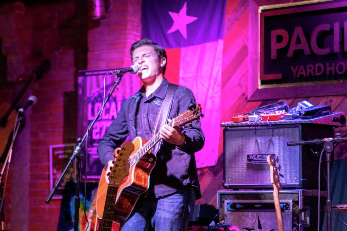 Singer Cannon Brand performs during Fire Up the Bands Saturday, July 6, 2019 at Pacific Yard House in Conroe. The Sip, Shop and Stroll Pub Crawl on June 25 ends at Pacific Yard House from 7:30 to 9 pm hosting local artist Cannon Brand.