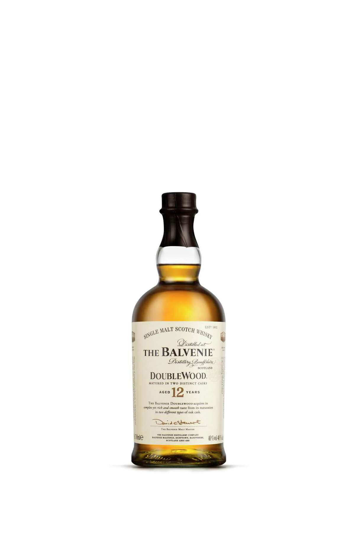 For your favorite single-malt man, The Balvenie Double Wood 12 Year Old makes a perfect gift. Matured in two wood types, this mellow Speyside scotch offers sherry sweetness, cinnamon spices and a long, warm finish; $59 at Total Wine & More.
