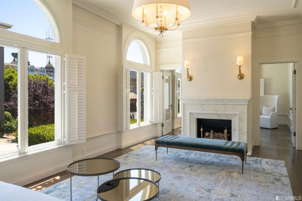 The home received a major remodel in 2008, so the sellers didn't have to do much, Toubba said. They did reface the living room fireplace, as well as another in the master bedroom.