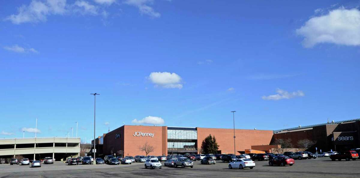 The exterior of the JC Penney store at Danbury Fair mall in Danbury, Conn. JC Penney filed for bankruptcy in May 2020.