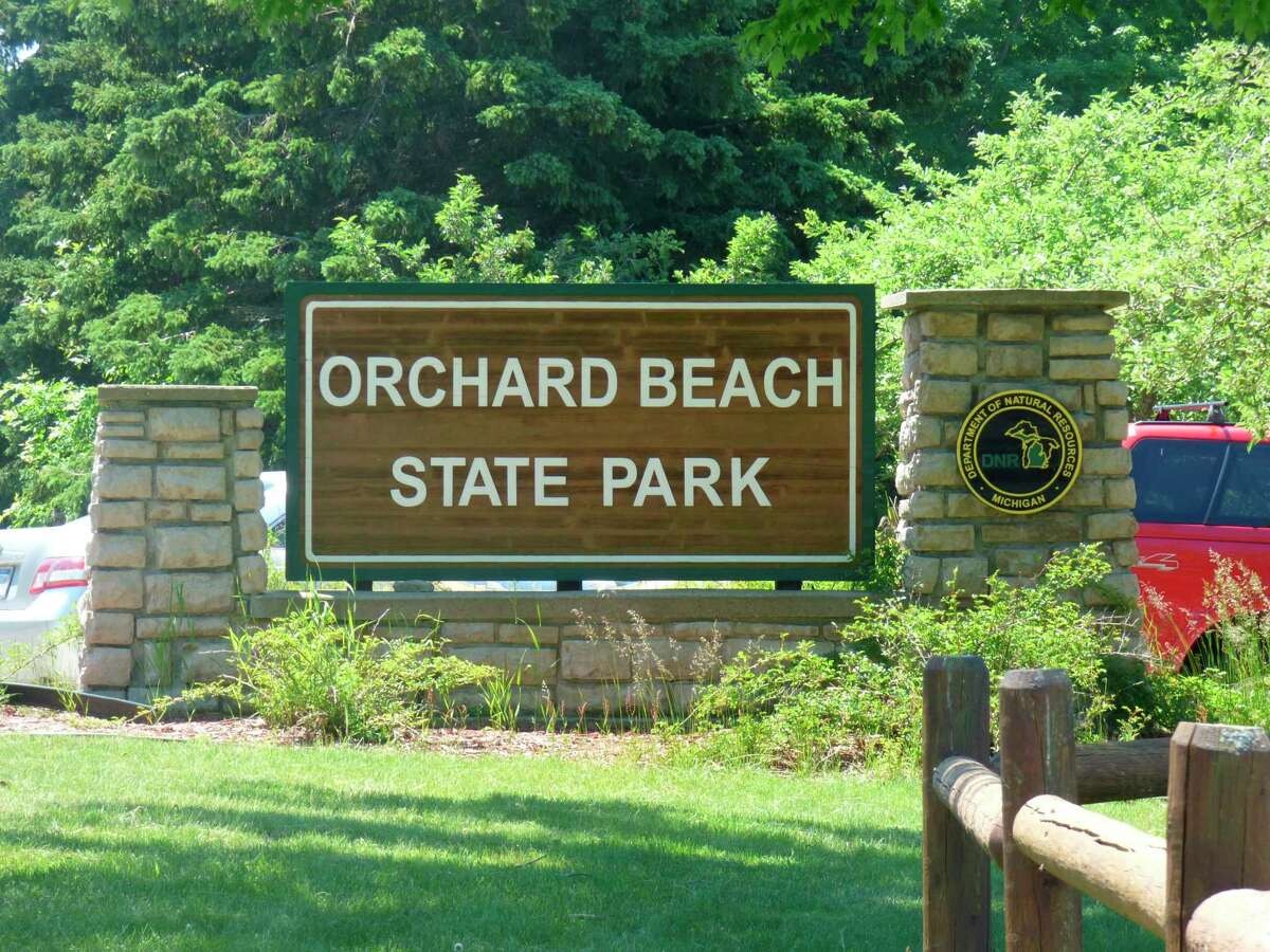 Orchard Beach State Park in Manistee will reopen to campersbeginning June 22. Park officials plan to move a historic pavilion later this year. (Scott Fraley/News Advocate)