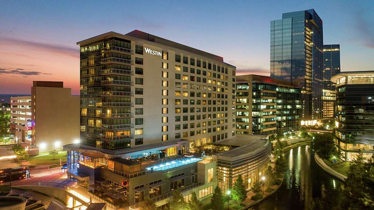 The Westin at The Woodlands at 2 Waterway Square Place.