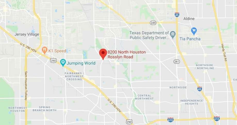 At least one person died Thursday in a crash in the 8200 block of N Houston Rosslyn Road, police said. Photo: Google Maps