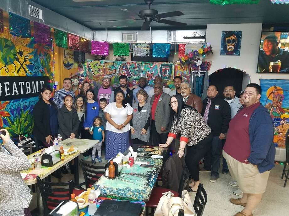 Guadalupe Gomez at a Hispanic Proactive Coalition event. Photo: Courtesy Of Hispanic Proactive Coalition