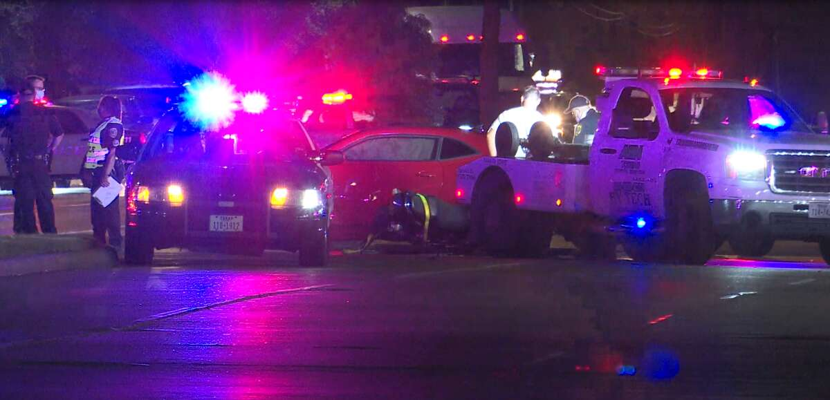 A motorcyclist was killed in an accident in northwest Houston Thursday.