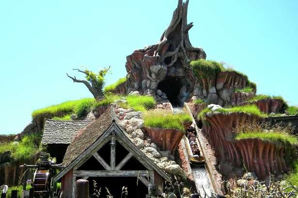 Disneyland's classic ride Splash Mountain.