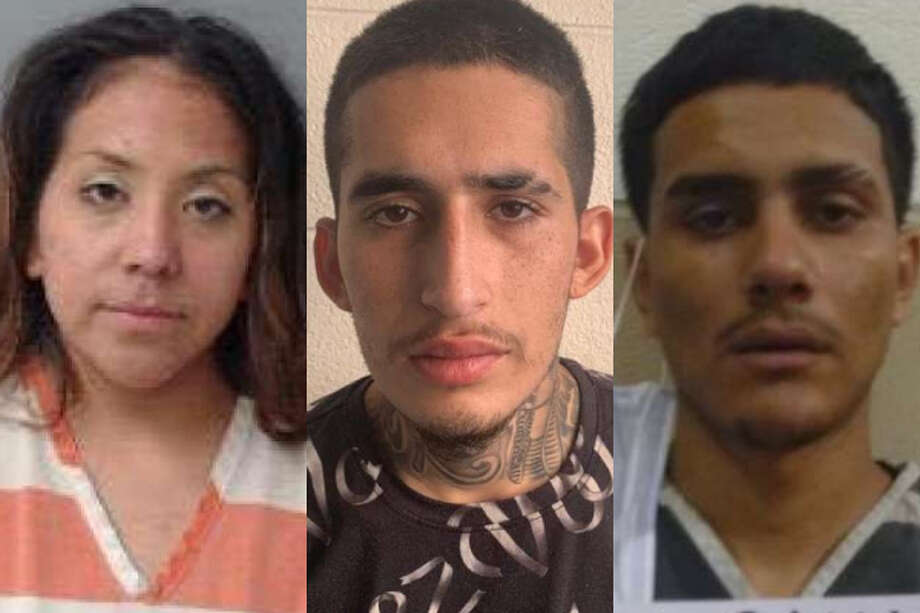 The Webb County Sheriff's Office has arrested the three people allegedly involved in an armed robbery in Rio Bravo. Photo: Courtesy