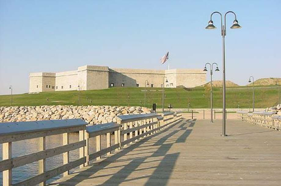 Fort Trumbull State Park in New London. Photo: Contributed Photo / Connecticut Post