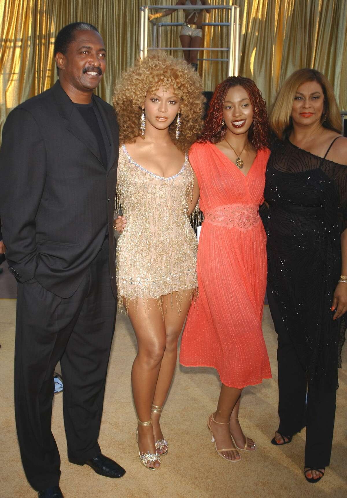 Matthew Knowles poses for a photo at the world premiere of