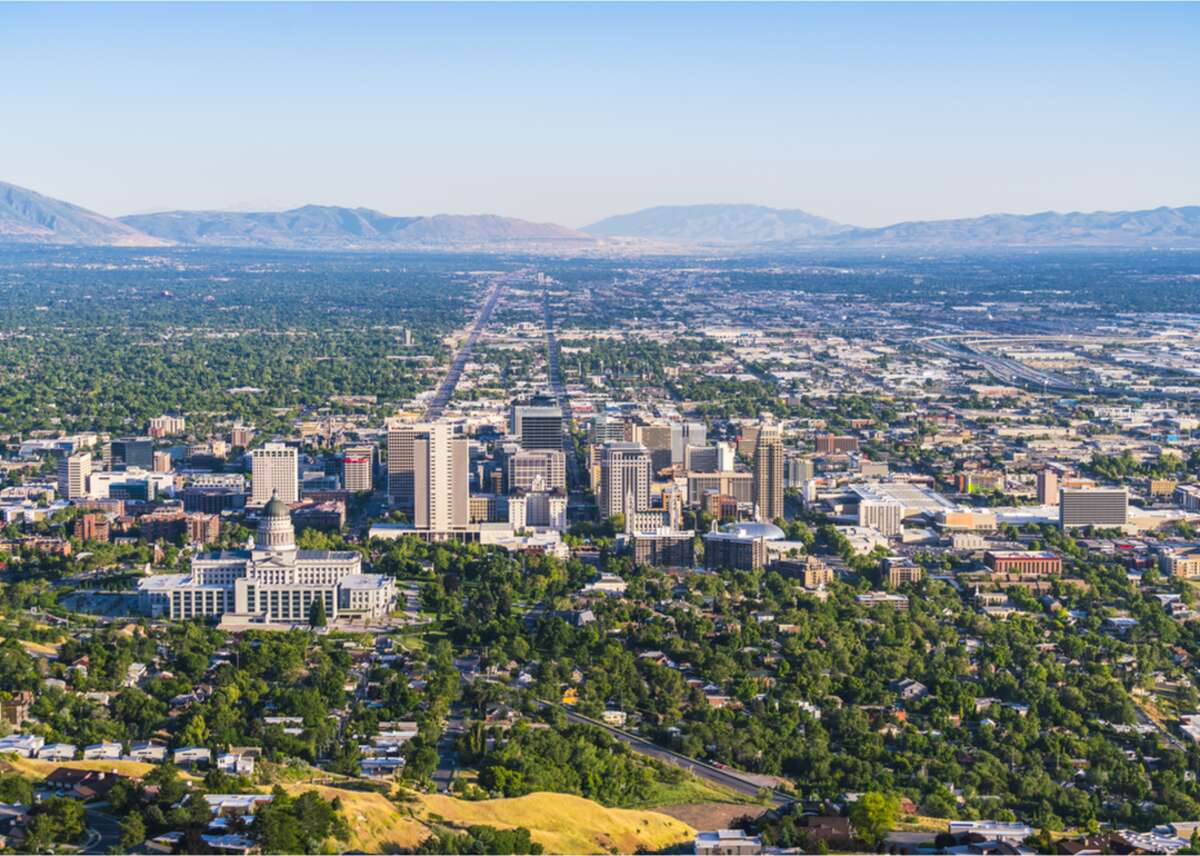 #49. Utah - Unemployment rate (May 2020): 8.5% - Change in unemployment rate since February 2020: +6.0% In early June, Utah saw the most new unemployment claims from office and administrative support staff, managers, and salespeople, according to David Wells of Fox 13. The state has been seeing thousands of previously-unemployed workers end their request for benefits in recent weeks, indicating that things are slowly getting back to normal. This slideshow was first published on Stacker