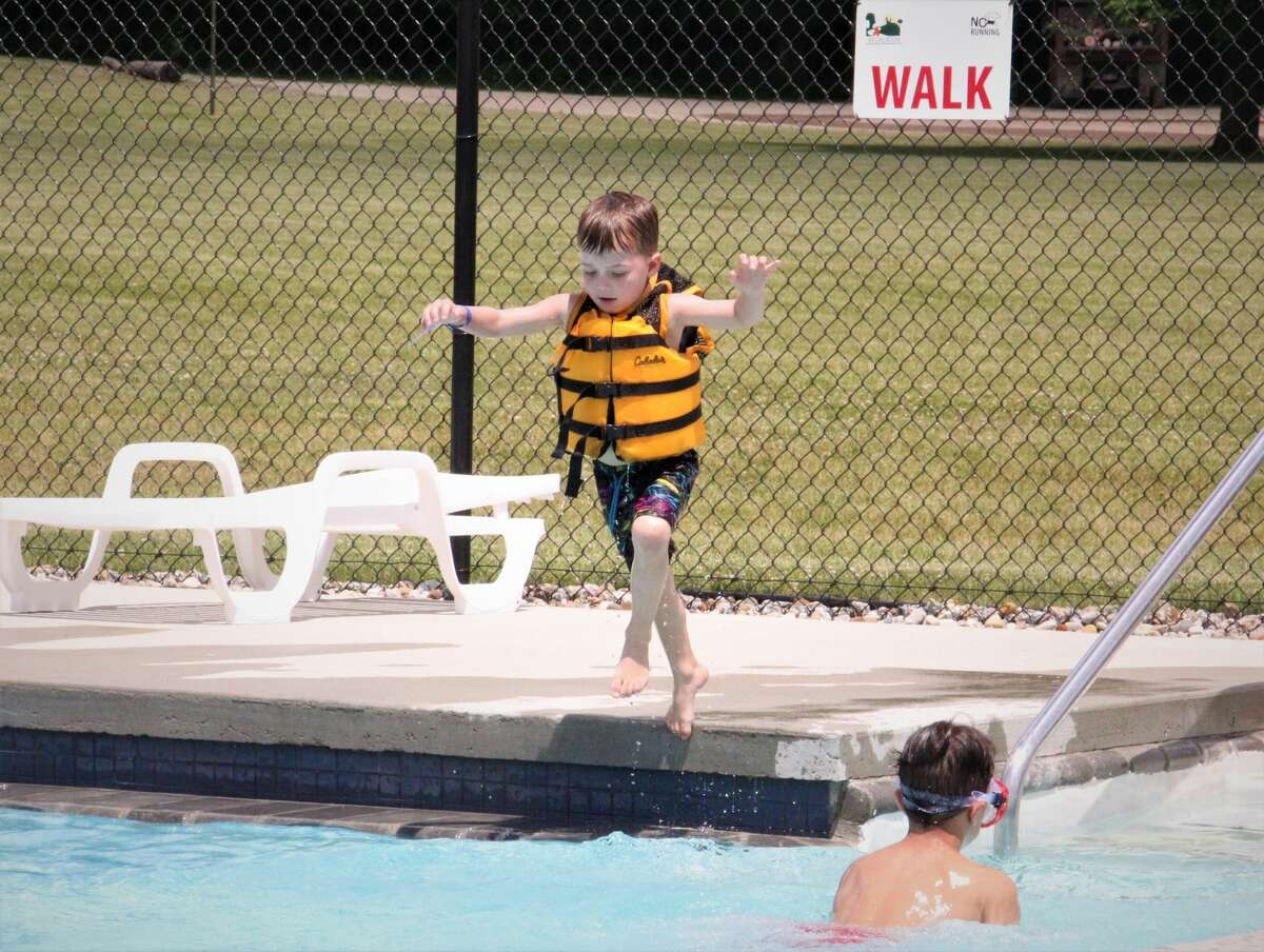 As temperatures spiked to the low 90s, residents in the Upper Thumb rejoiced as the Helen Stevens Memorial Pool opened for the season.