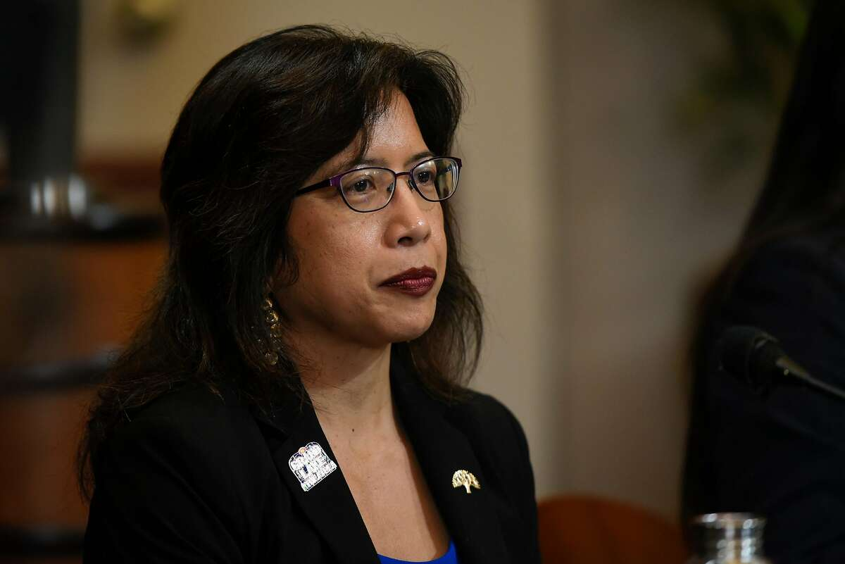 Oakland City Council Member Nikki Fortunato Bas co-chairs the city's Reimagining Public Safety Task Force, which has a stated goal of cutting the police budget in half and shifting the money to social services.