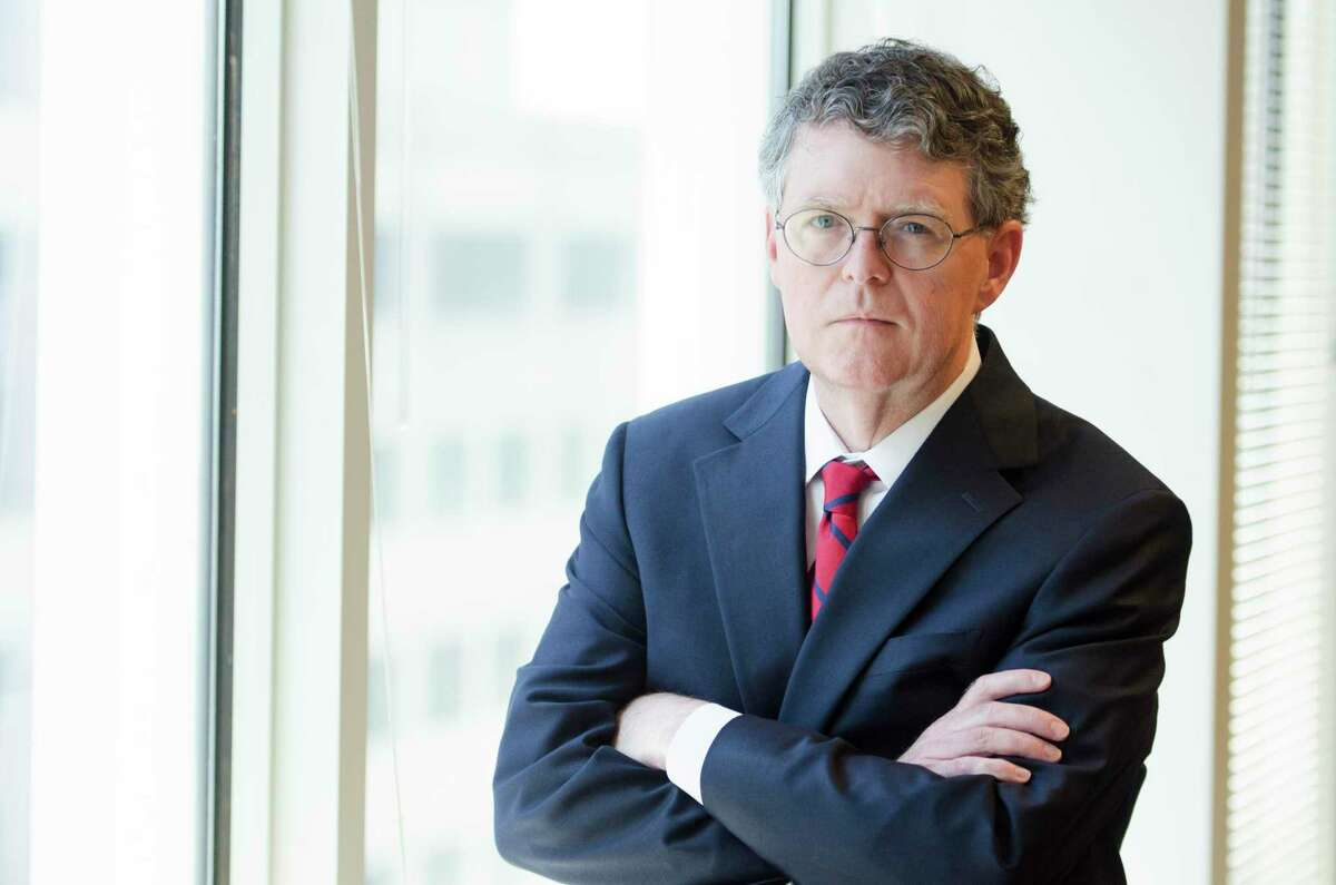 Federal Energy Regulatory Commission Commissioner Bernard McNamee takes time for a portrait at his office in Washington, DC., Wednesday, June 26, 2019.