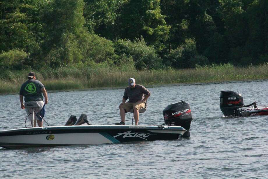 Bass fishing tournaments remain popular in western Michigan. (Pioneer file photo)