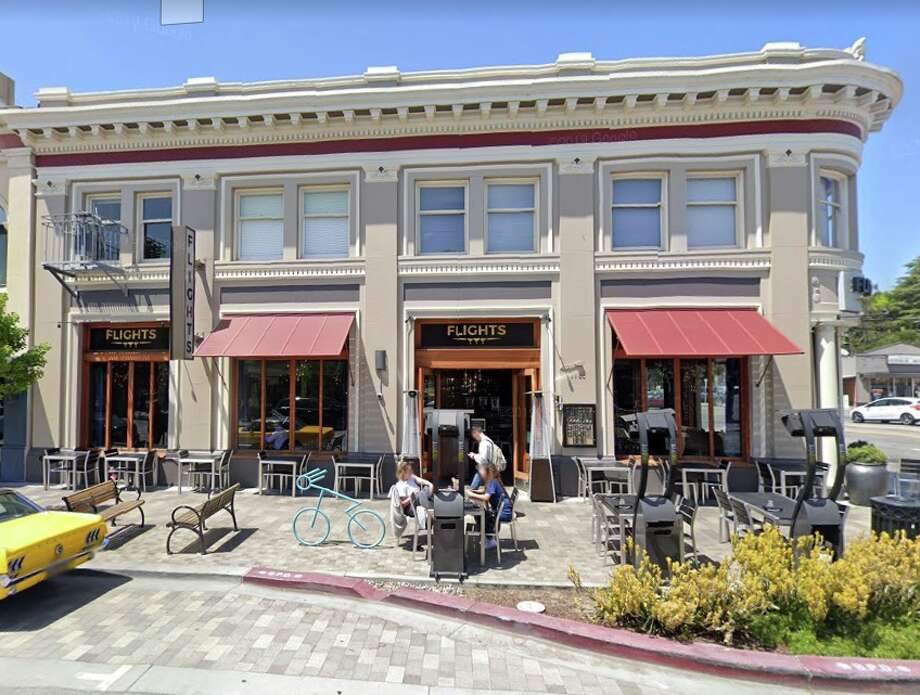 Flights Restaurant in Burlingame, Calif. Burlingame police say a man made felony threats against a famiy wearing Black Lives Matter t-shirts on June 7 outside the restaurant. Photo: Google Street View