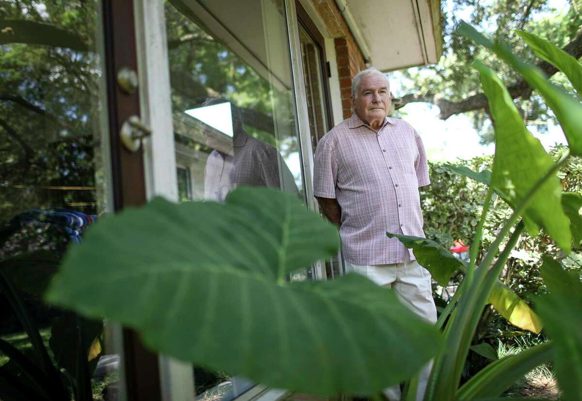 Richard Murray, a political science professor at the University of Houston, poses for a portrait Thursday, June 18, 2020, at his home in Houston.