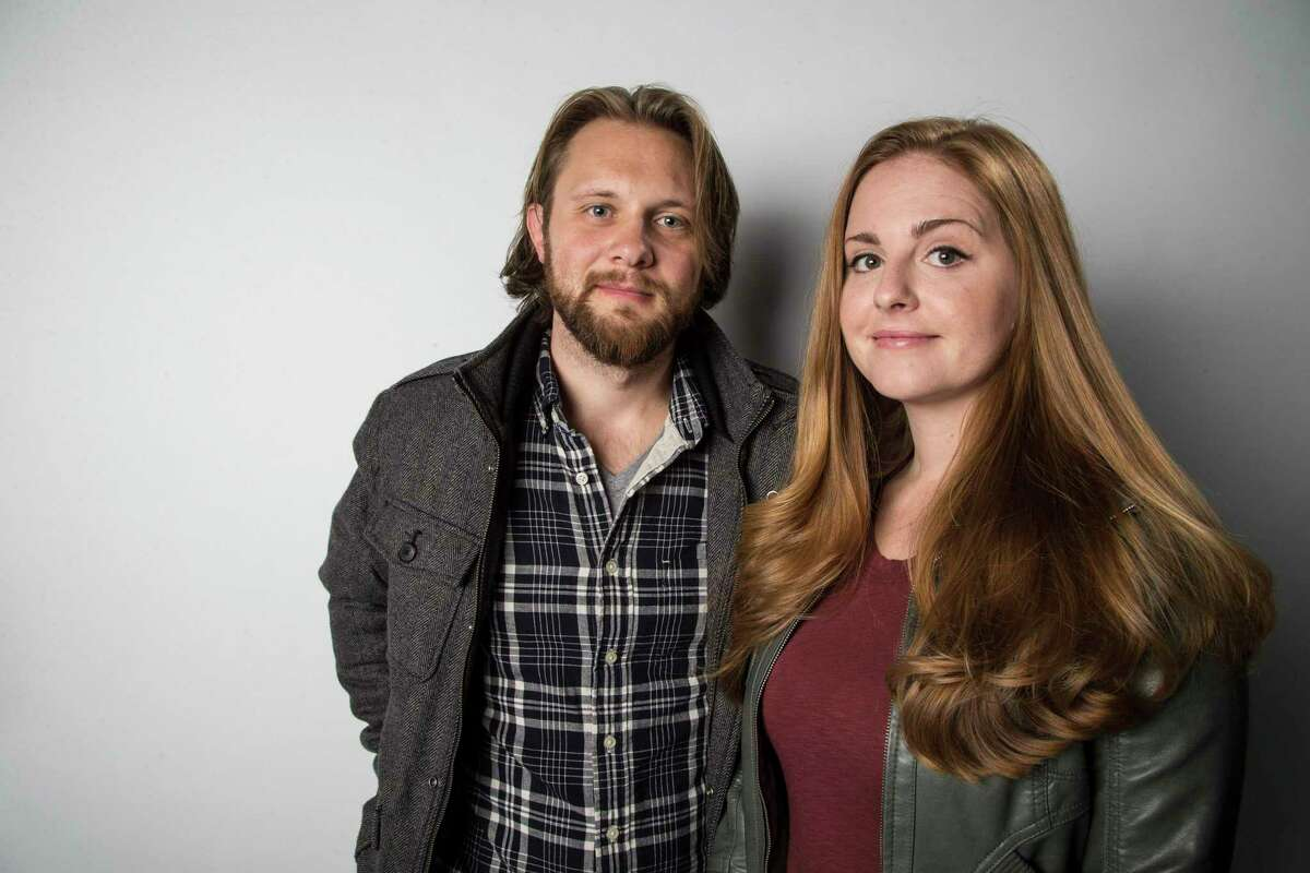 Thug Kitchen duo Matt Holloway and Michelle Davis.