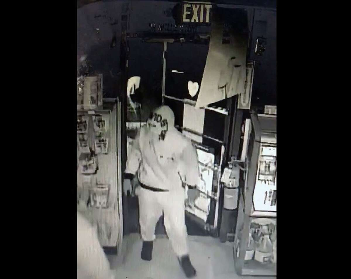 State police are looking to identify three suspects connected to a series of commercial burglaries and ATM thefts in Connecticut.
