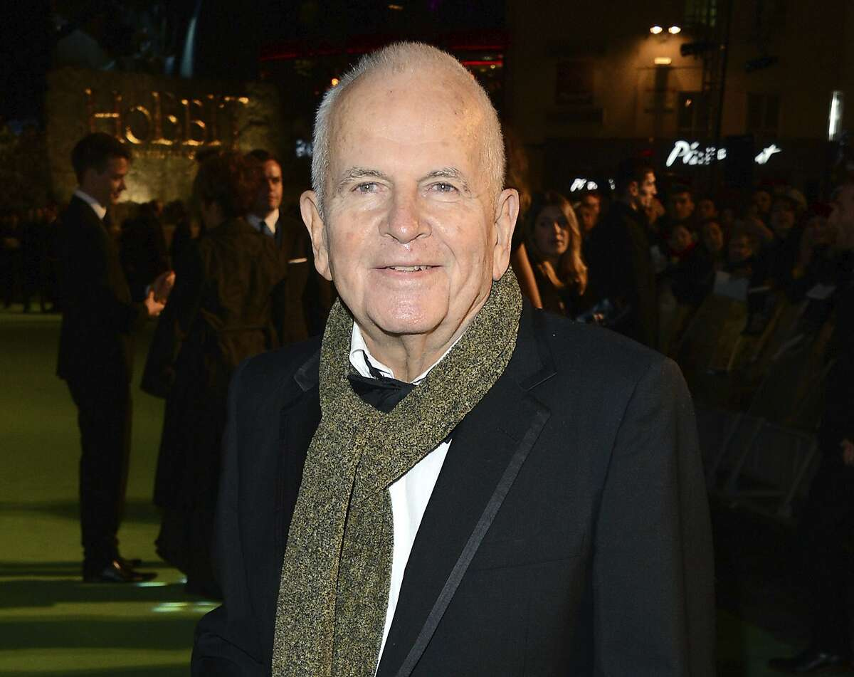 Ian Holm appears at the premiere of