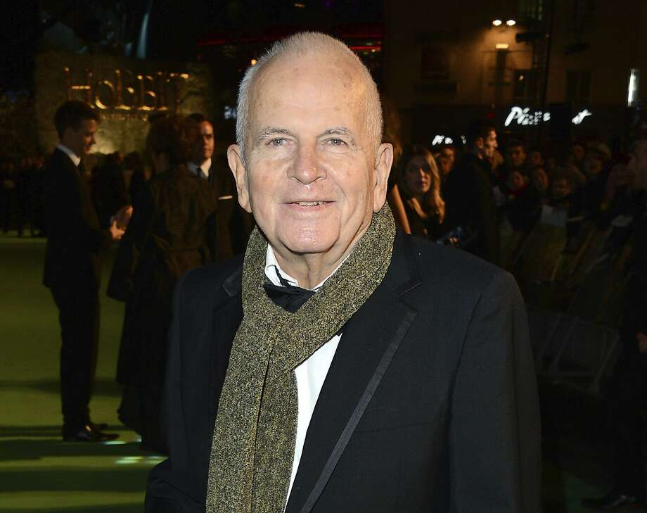 """Ian Holm appears at the premiere of """"The Hobbit: An Unexpected Journey"""" in London in December 2012. It was one of several films in which he played hobbit Bilbo Baggins. Photo: Jon Furniss / Invision / Associated Press 2012"""
