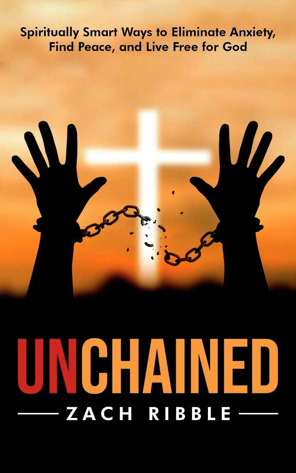"""Zach Ribble's debut book """"Unchained"""" was released in May. (Photo provided)"""