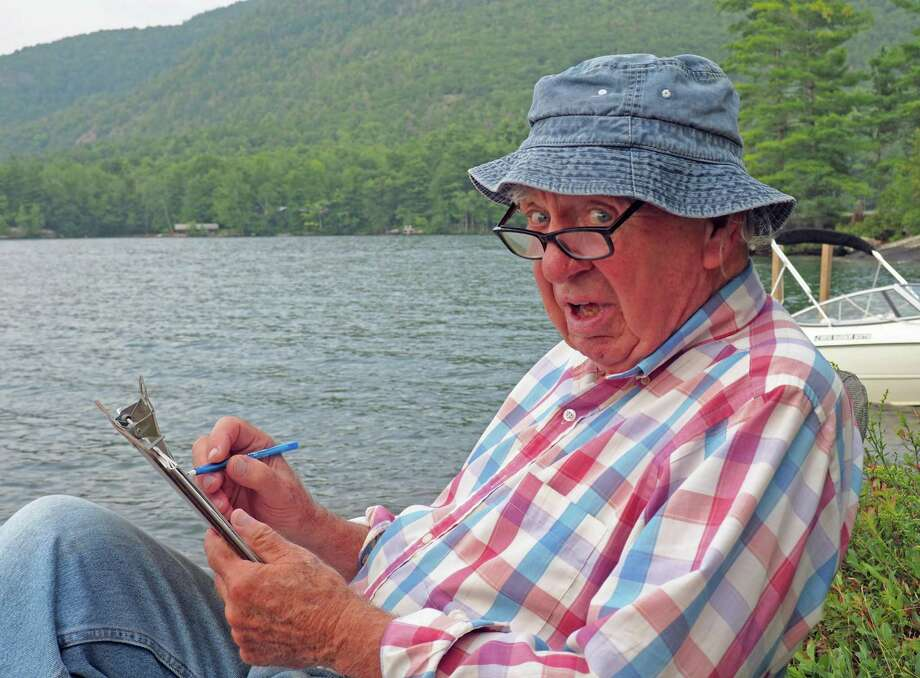 """Stamford resident James """"Pebit"""" Duffy on a family camping trip. Photo: M. Duffy /Contributed Photo"""
