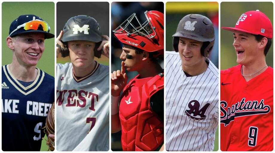 All-Senior Baseball Team Photo: Staff Photos