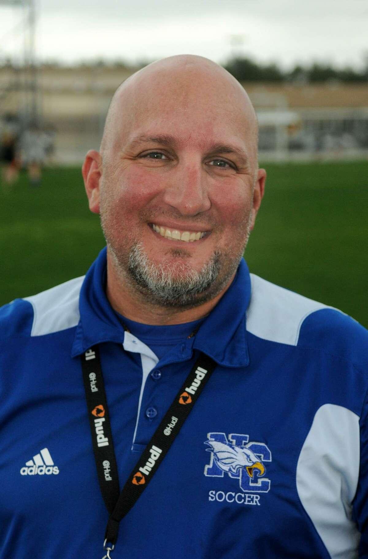 New Caney Head Girls Soccer Coach Chris McComb
